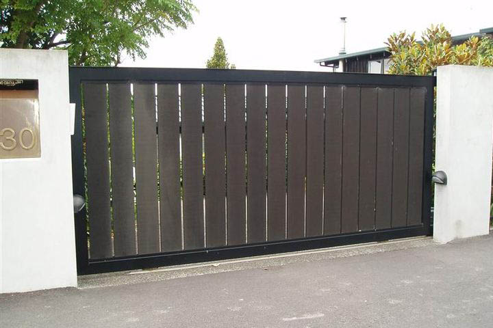 Sliding gates automatic remote control gate