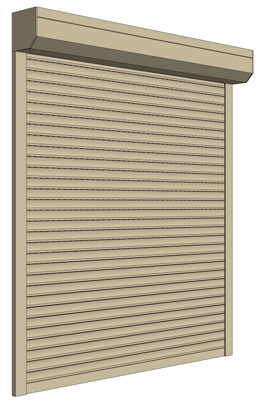 Sri Lanka Roller Shutter Cream Color